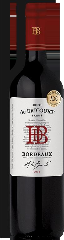 HENRI DE BRICOURT, BORDEAUX