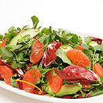 GRAPEFRUIT, AVOCADO AND WATERCRESS SALAD