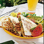 TUNA AND CANADIAN MONTEREY JACK QUESADILLAS