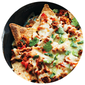 TURKEY CHILI NACHOS