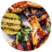 SPICED GRILLED MAPLE LIME CHICKEN
