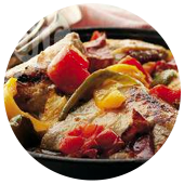 ANDALUSIAN BAKED CHICKEN WITH PEPPERS