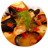 BOUILLABAISSE WITH SAUCE ROUILLE