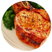 MUSTARD HONEY PORK CHOPS