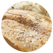 LEMON PEPPER ROASTED COD