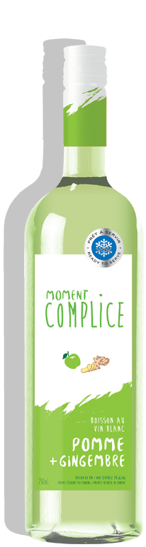 MOMENT COMPLICE POMME + GINGEMBRE